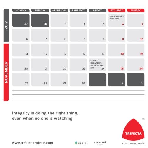 2017 Calendar 23