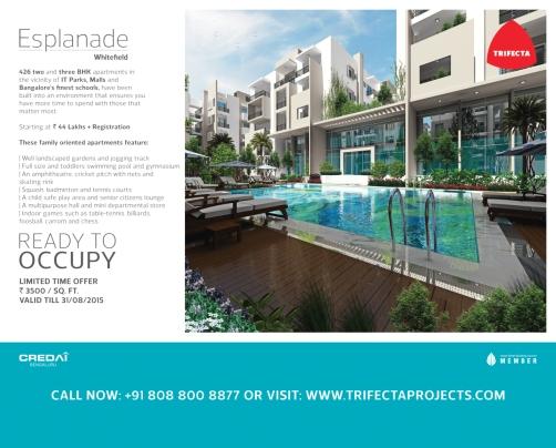 CREDAI Exhibition - August 2015 Esplanade