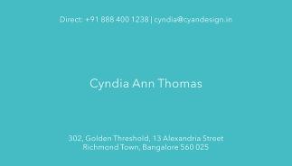Cyan Design Visiting Card 02