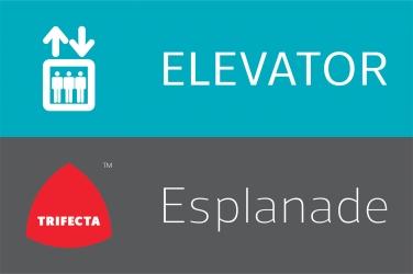Esplaande Elevator Signage
