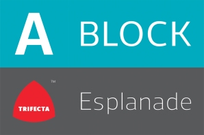 Esplanade Block Signage