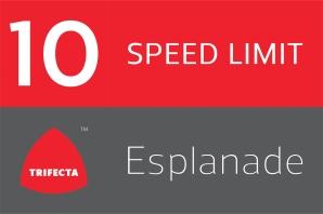 Esplanade Speed Limit