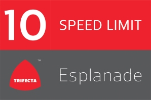 Esplanade Speed Limit