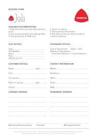 Joli Booking Form 01
