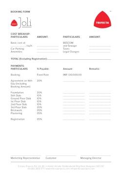 Joli Booking Form 02