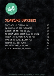 Melt Bar Menu - 10