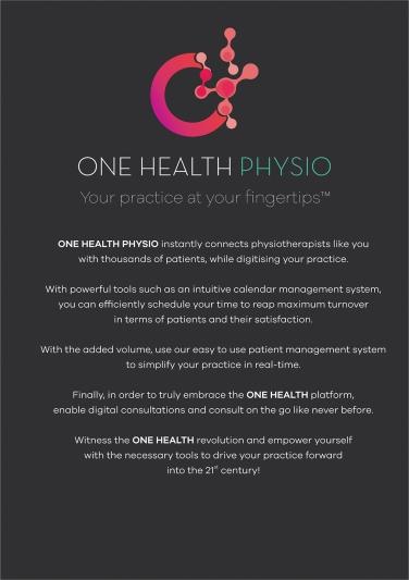 One Health Physio Leaflet 01