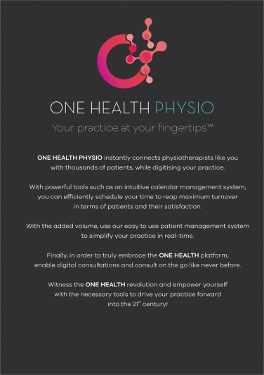 One Health Physio Leaflet 01