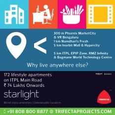 Starlight Mahadevpura Hoarding