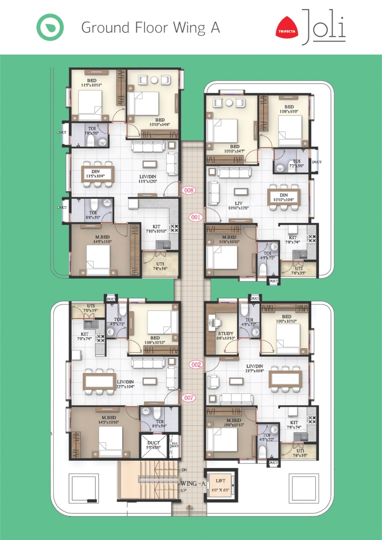 Trifecta Joli Floor Plans 02