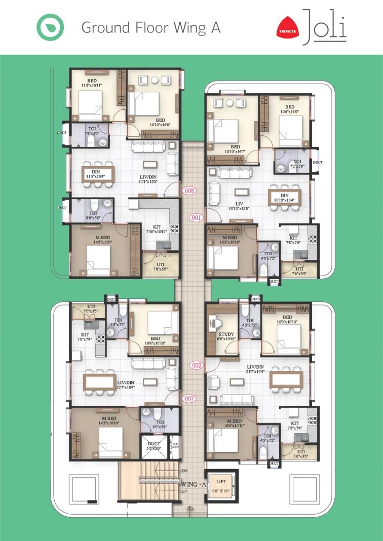 Trifecta Joli Floor Plans 02